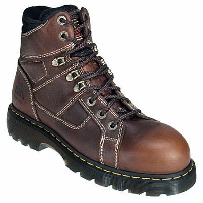 Doc Martens Ironbridge R12721200 Brown Steel Toe Boots