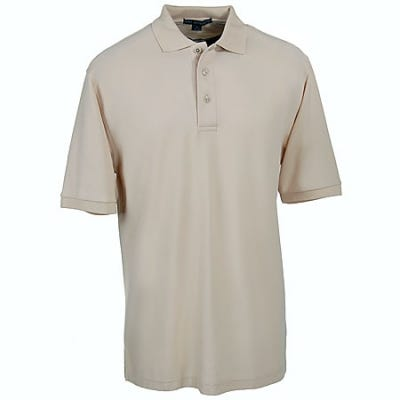Port Authority Shirts: Mens Silk Touch Knit Polo shirt K500 STN