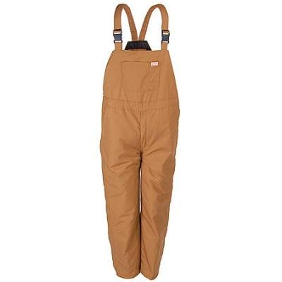 Red Kap Overalls: Men's BD30 BD Brown Duck Insulated Bib Overalls Sale $94.00 Item#BD30BD :
