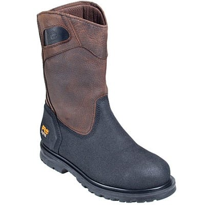 Timberland PRO Boots: Men's 53522 PowerWelt EH Steel Toe Wellington Boots