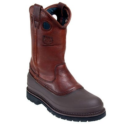 Georgia Boots Men's Brown G5655 Muddog EH Steel Toe Wellington Boots