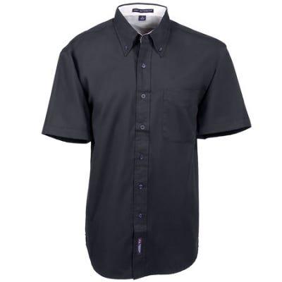 Port Authority Shirts: Men's Black Short Sleeve Shirt S508