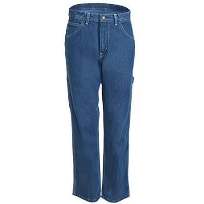 Key Jeans: Men's Cotton Hammer Loop Dungaree Jeans 402 45