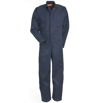 Red Kap Coveralls: Navy Unlined Twill Action Back Coveralls CT10 NV Sale $27.00 Item#CT10NV :
