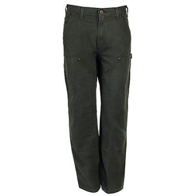 Carhartt Jeans: Cotton Duck Work Dungaree Pants B136 MOS Sale $47.00 Item#B136MOS :