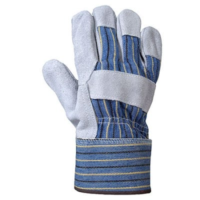 Revco Gloves Safety Gloves Split Cowhide Leather Palm Gloves 6B