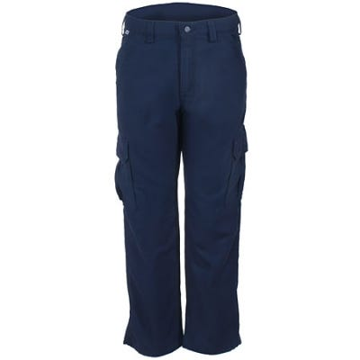 Carhartt FR: Carhartt FRB240 DNY Flame Resistant Cargo Pants- Dark Navy