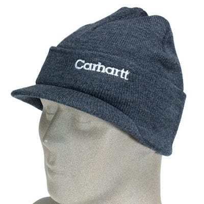 Carhartt Caps: Coal Heather Acrylic Knit Cap A164 CLH Sale $10.00 Item#A164CLH :
