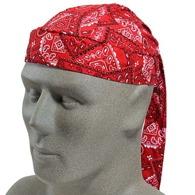 OccuNomix Mira Cool Red Lightweight Cotton Hat 952 03