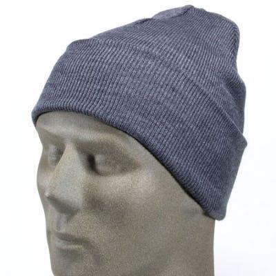 Port and Company Caps Headgear CP90 GRY Acrylic Knit Cap Gray