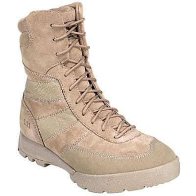 5.11 Tactical Boots: Men s 8 Inch HRT Brown Military Boots 11004 - 14M