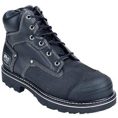 Timberland Pro Boots: Men's Steel Toe Leather Work Boots 53525 - 7M