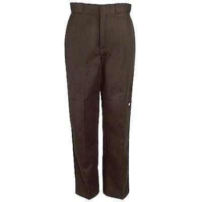 Dickies Dark Brown 85283 DB Loose Fit Double Knee Work Pants