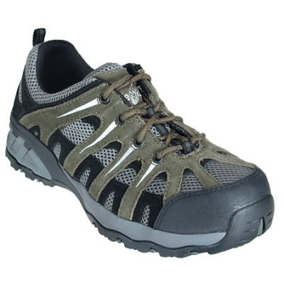 Nautilus Men's N1704 Composite Toe EH Grey/Tan Hiking Shoes