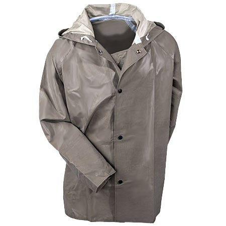 Tingley Rubber Men's Flame-Resistant Waterproof Hooded Safety Jacket J12148