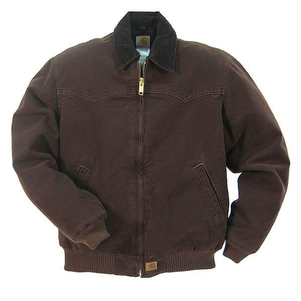 Carhartt Jackets: Cotton Duck Jacket J14 DKB Sale $95.00 Item#J14DKB :