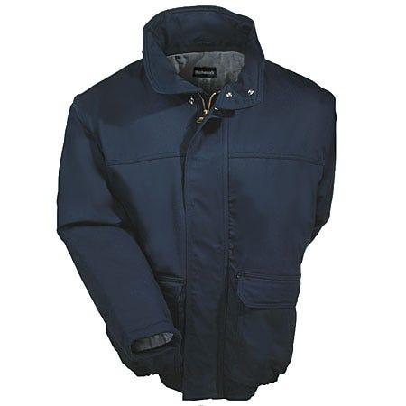 Bulwark Jackets: Men's Fire-Resistant Insulated Cotton Blend Jacket JLR8 NV Sale $190.00 Item#JLR8NV :