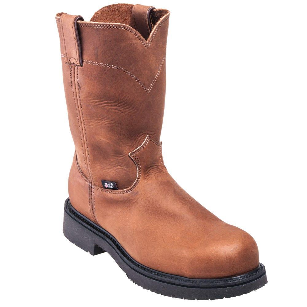 Justin Boots Men's Steel Toe Cowboy Boots 4795