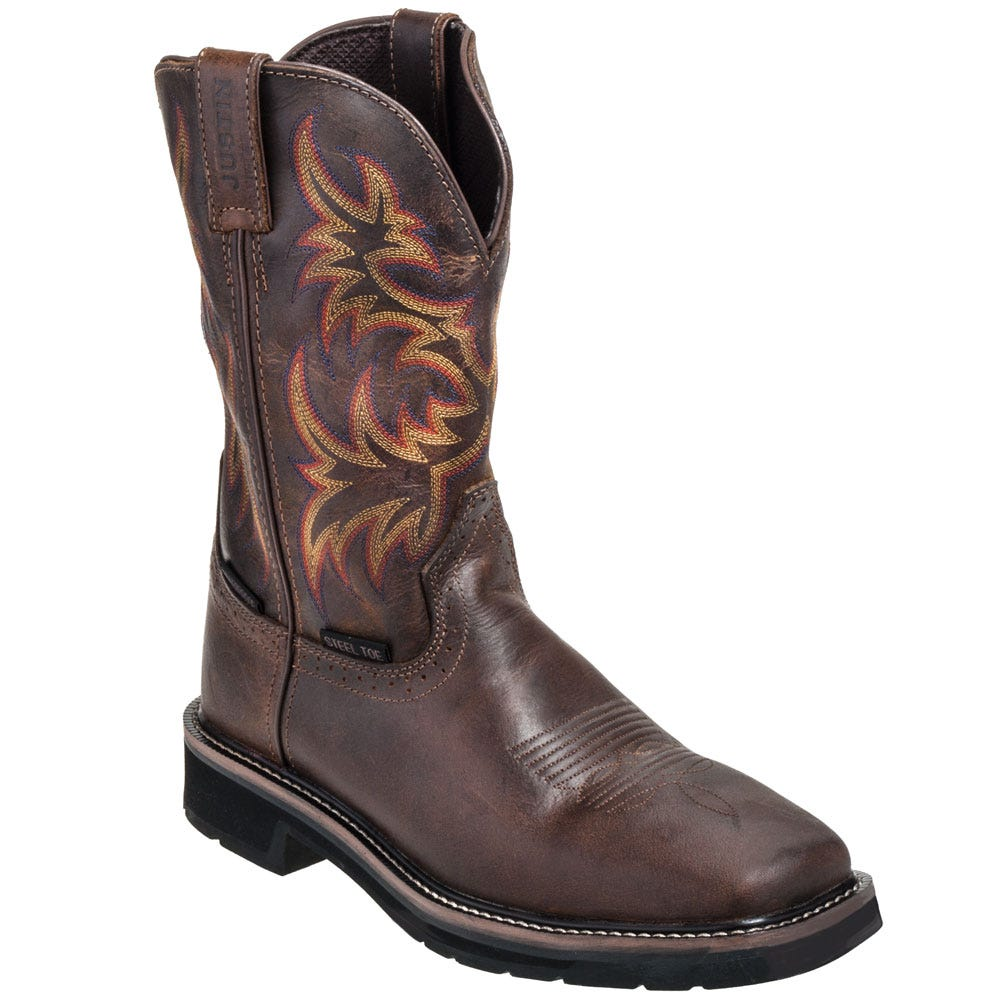 Justin Boots Men's Work Boots WK4690