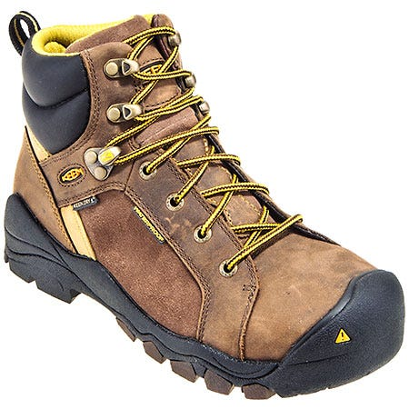 Keen Boots: Women's Waterproof 1010115 Steel Toe Leather Salem Boots