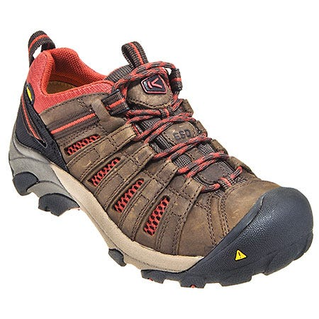 Keen Shoes: Women's Water-Resistant 1010119 Brown Slip-Resistant ESD Shoes