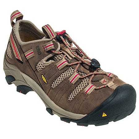 Keen Shoes: Women's Brown 1009875 Steel Toe ESD Work Shoes