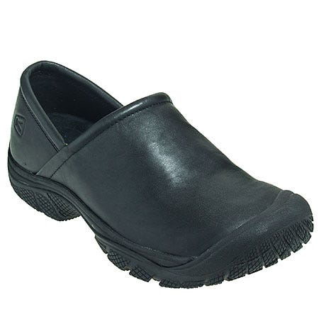 Keen Footwear: Men's 1006983 Black PTC Slip-On II Work Shoes