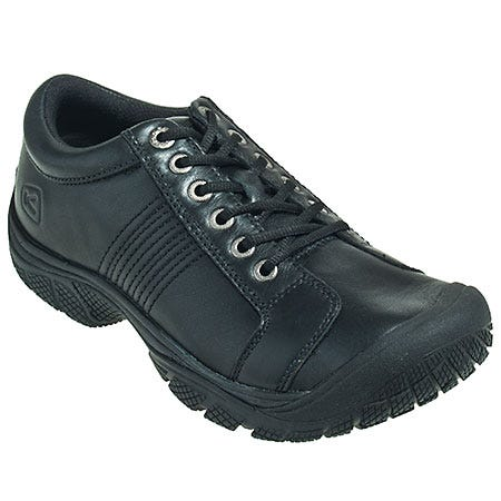 Keen Shoes: Men's 1006980 Non-Slip Black Water-Resistant Restaurant Shoes