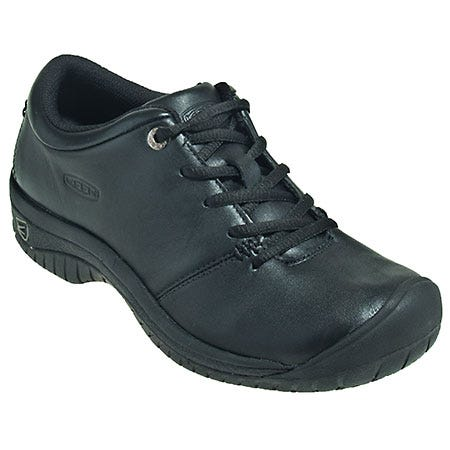 Keen Shoes: Women's Black 1006999 Non-Slip Water-Resistant Restaurant Work Shoes