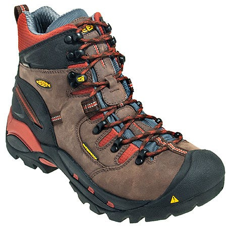 Keen Footwear Men's Brown Pittsburgh 1009709 Waterproof EH Hiking Boots