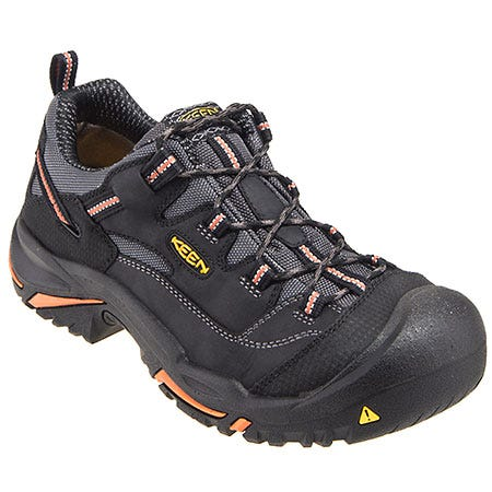 Keen Footwear: Men's USA-Made 1011244 Black Steel Toe EH Hiking Boots