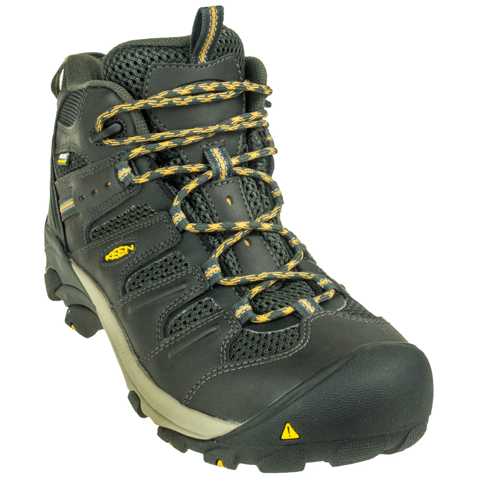 Waterproof Mid Steel Toe Work Boots