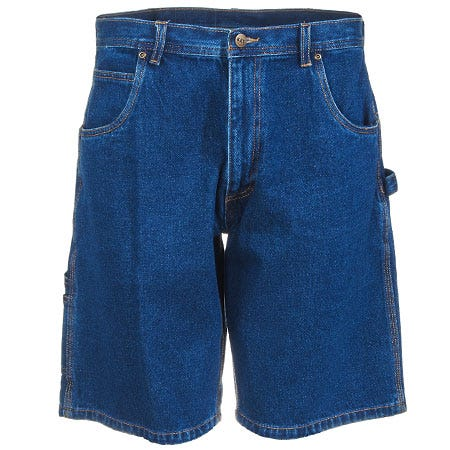 Key Shorts: Men's Blue 155 45 Cotton Twill Dungaree Shorts