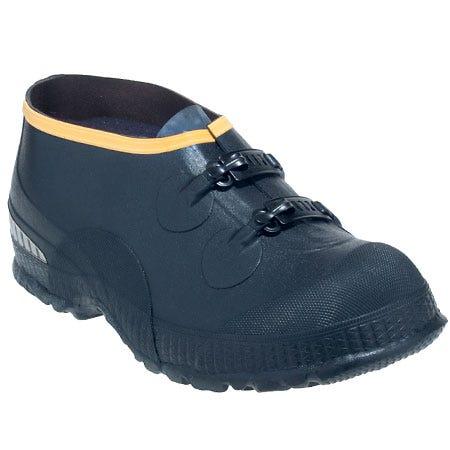 LaCrosse Men's 00267090 Waterproof Black 2-Buckle Rubber Overshoes