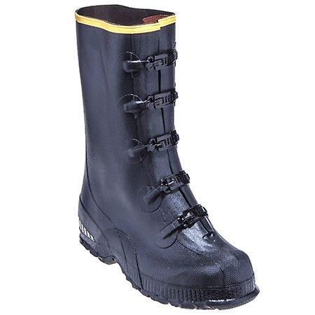 LaCrosse Men's 00267140 Black 14 Inch Waterproof 5-Buckle Overshoes