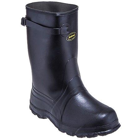 LaCrosse Men's Black 100030 Waterproof Rubber Utah Brogue II Overshoes