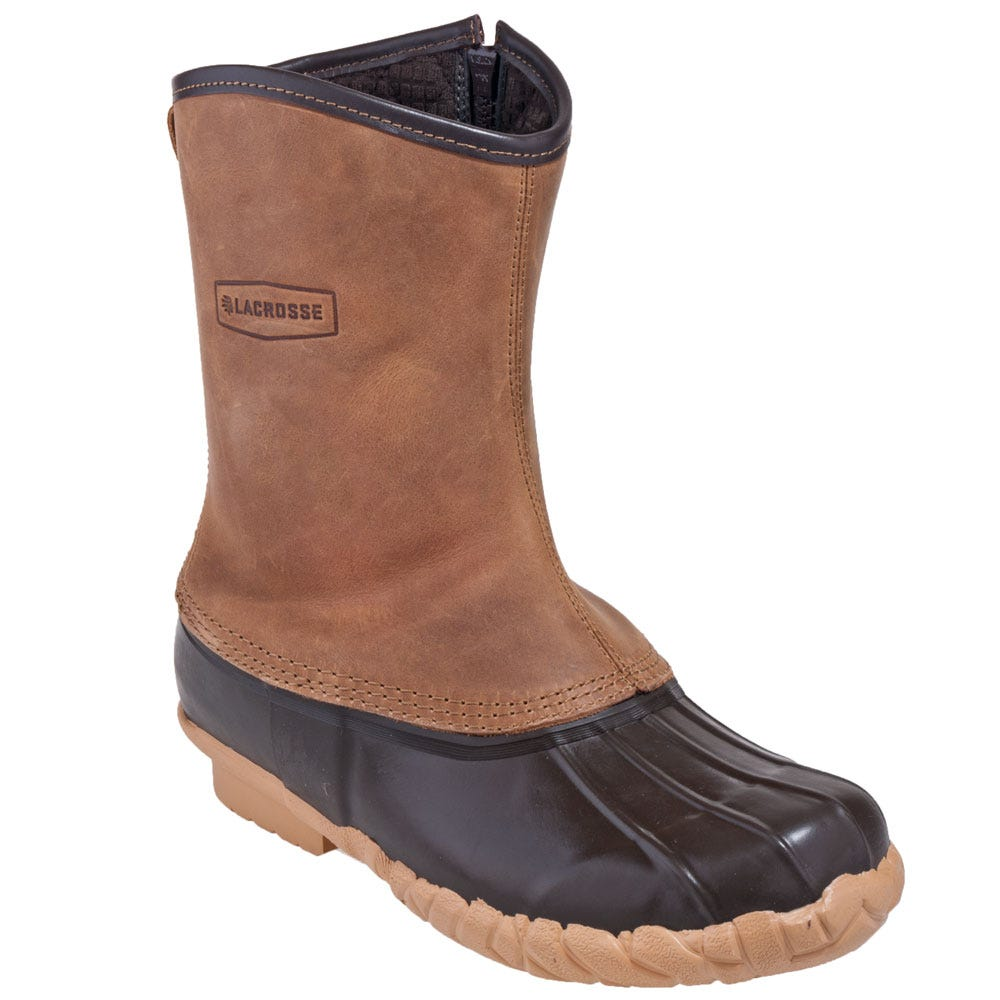 lacrosse boots s 273124 brown mesquite ii 200g