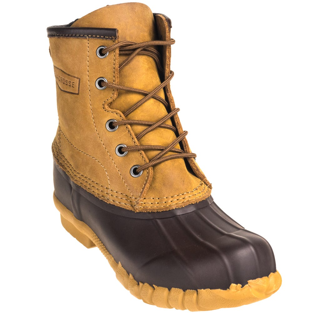 LaCrosse Women's 635172 Water-Resistant Rustic Brown Uplander II 6-Inch Pac Boots