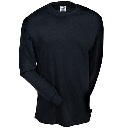 Occunomix Shirts: LUX LSTFR Men's Midnight Blue Classic Flame Resistant Shirt