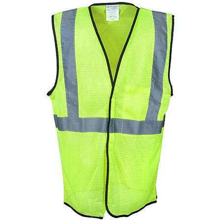 Occunomix Vests: Unisex LUX SSGC FR Flame Resistant High Visibility Safety Vest