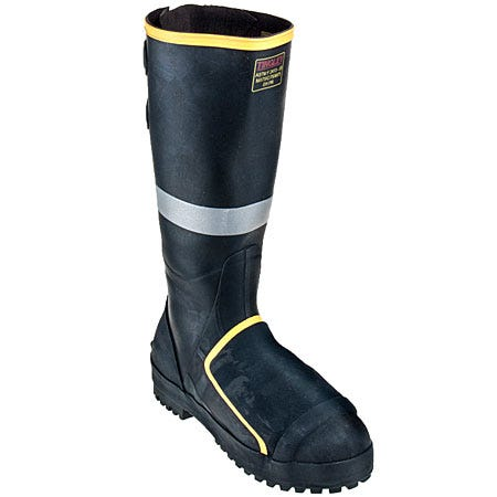 Tingley Boots: Men's Steel Toe MB816B Waterproof Puncture-Resistant Rubber Boots