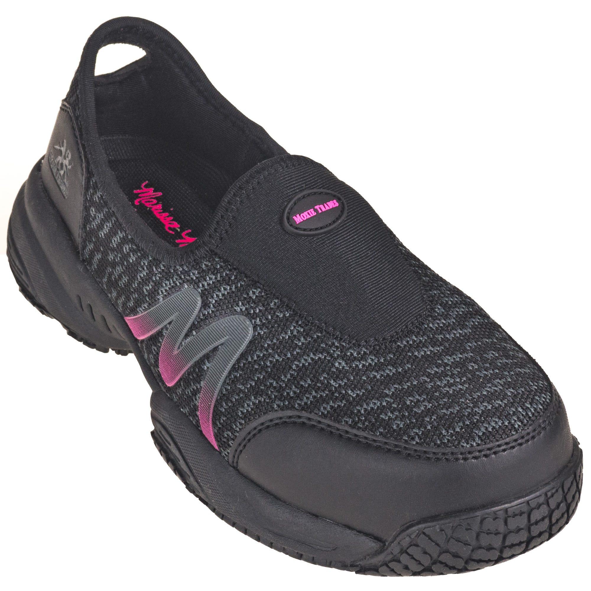 Moxie Trades Women's 50180 Non-Metallic Composite Toe Slip-On Zena Athletic Shoes