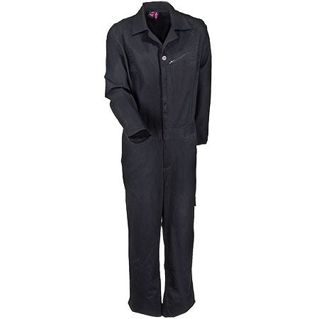 Moxie Trades Coveralls: Women's Black 80133 Cotton Boot Cut Coveralls Sale $65.00 Item#80133 :
