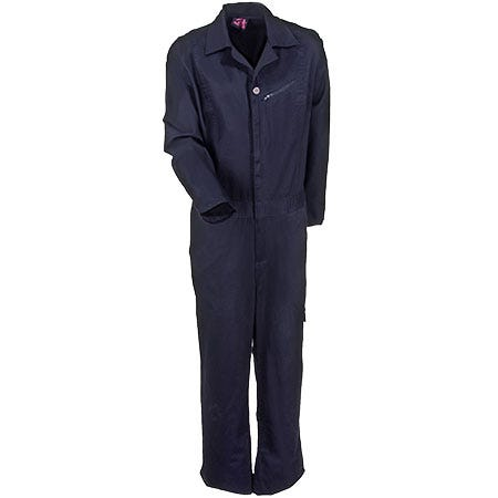 Moxie Trades  Women's 80135 Navy Blue Cotton Work Coveralls