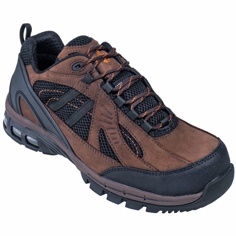 Nautilus Shoes Menu0026#39;s N1700 Composite Toe Brown EH Tennis ...