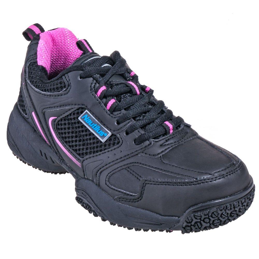 Nautilus Shoes Women's N2151 Slip-Resistant Steel Toe Shoes