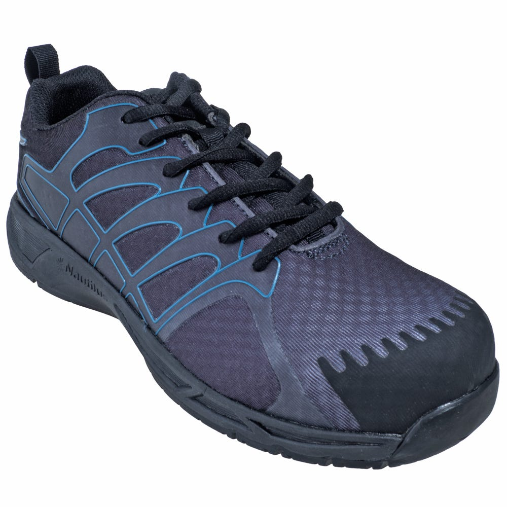 Nautilus Safety N2421 Grey Composite Toe ESD Athletic Shoes