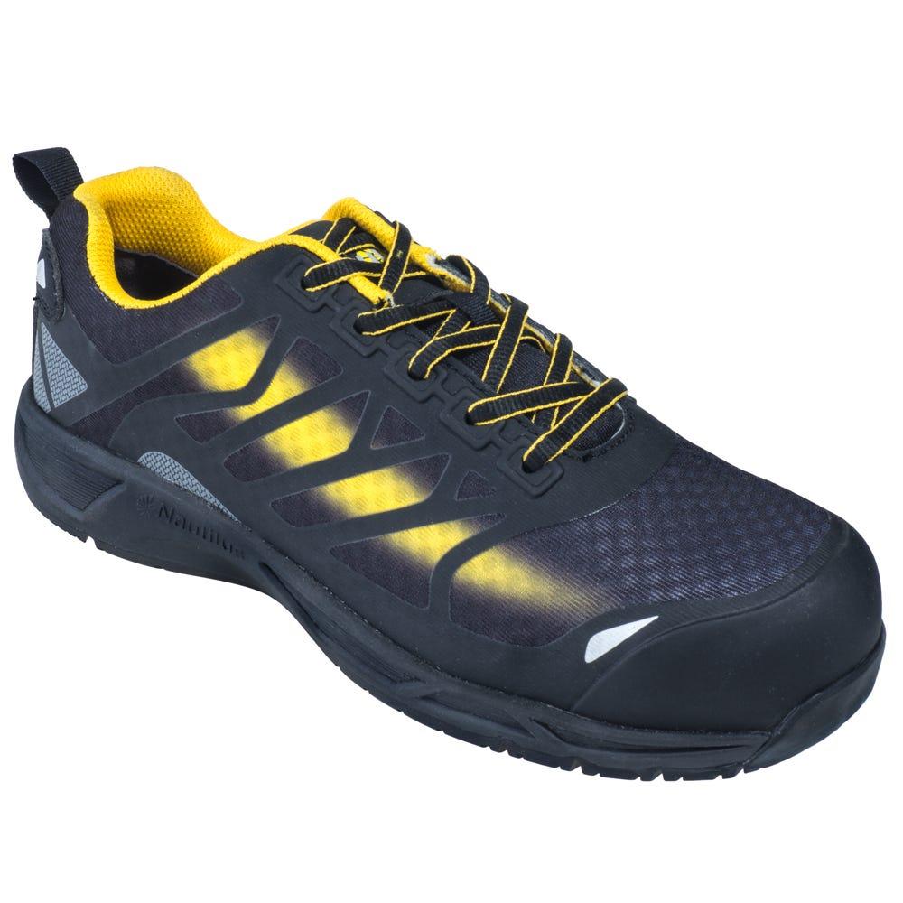 Nautilus Mens Steel Toe Non Slip Tennis Shoes