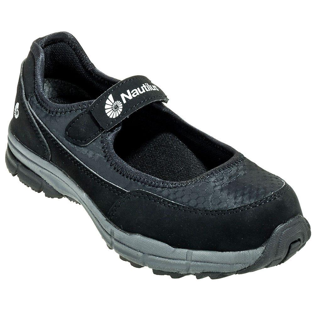 Nautilus Shoes: Women's Black Steel Toe N1687 ESD Work ...