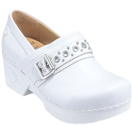 White Non Slip Nursing Shoes